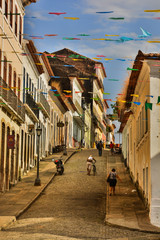 rua centro histórico de São Luís