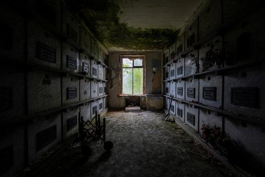 Abandoned Mausoleum - Providence, Rhode Island