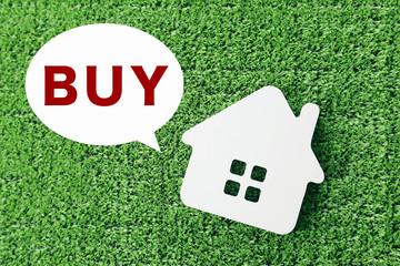 家を買う イメージ Buy a house image