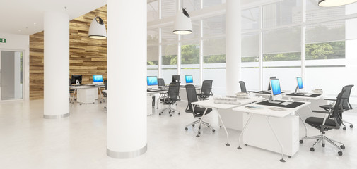 Modern Office Conception 02 (panoramic)