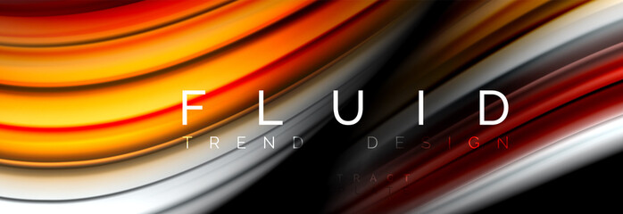 Fluid color motion concept