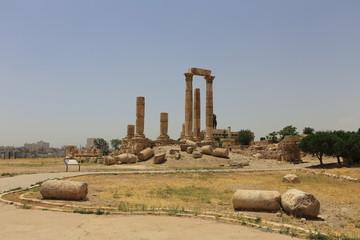 Temple of Hercules of the Amman Citadel complex (Jabal al-Qal'a), Amman, Jordan
