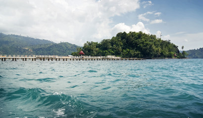 Carocok Beach In Painan West Sumatera