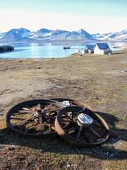 """Segelschiff """"Noorderlicht"""" vor Spitzbergen"""