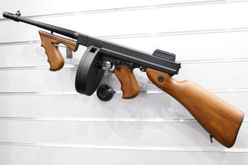 Thompson machine gun
