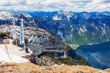 Dachstein Mountains in Austria