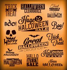 Halloween Calligraphic Designs