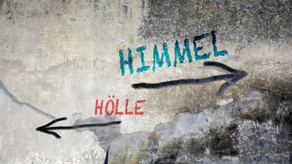 Schild 391 - Himmel