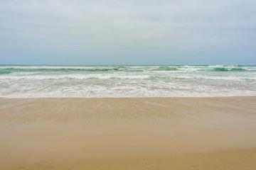 Spiaggia sull'oceano Pacifico