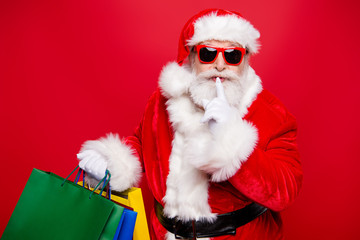 Winter noel eve Christmastime black Friday. Excited hearsay news