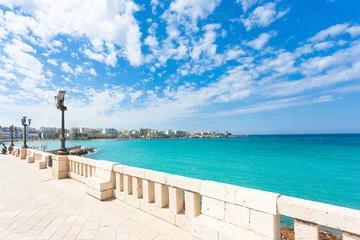 Otranto, Apulia - Lookout from the promenade of Otranto in Italy