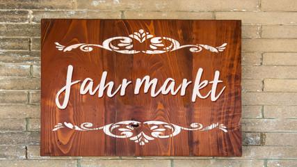 Schild 344 - Jahrmarkt