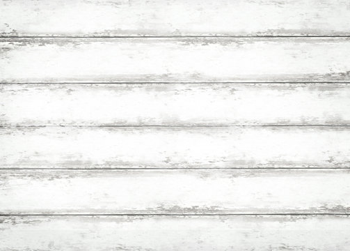 Rustic White Wood Background