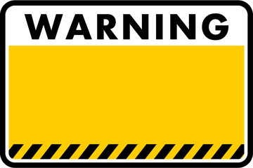 warning, sign vector