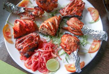 Tandoori Chicken, Grilled chicken