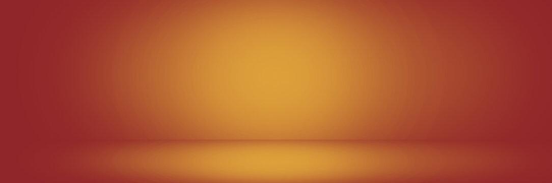 orange and yellow studio background banner, gradient backdrop
