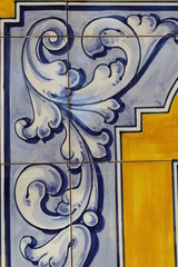 ceramic tiles from Talavera de la Reina, Toledo, Spain
