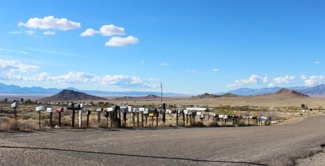 Türaufkleber Route 66 Route 66