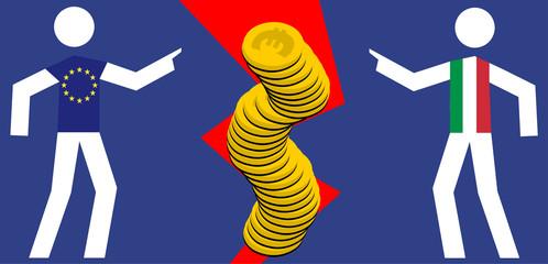 Italy vs UE - financial problem