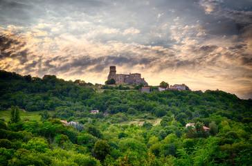 Le Château de Tournoël près de Volvic