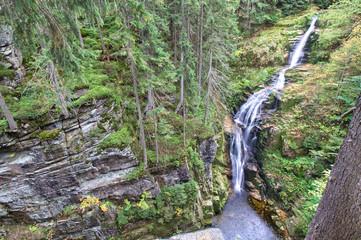 Wodospad Kamieńczyka - Szklarska Poręba -  Karkonosze - Sudety - Polska