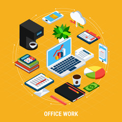 Business Office Round Composition