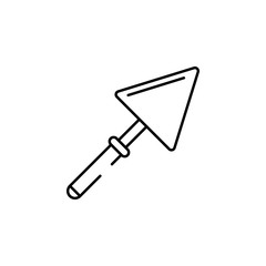 Arrowhead icon. Element of Pakistan culture for mobile concept and web apps illustration. Thin line icon for website design and development, app development