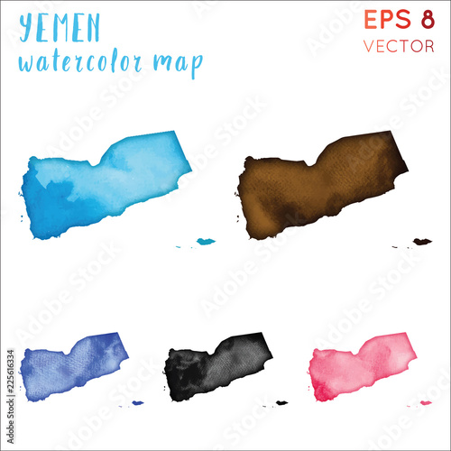 Yemen watercolor country map. Handpainted watercolor Yemen map set on greenland country map, soviet union country map, cyprus country map, kuala lumpur country map, vatican country map, burkina faso country map, u.s. country map, taliban country map, kyrgyzstan country map, republic of georgia country map, botswana country map, uzbekistan country map, mount everest country map, worldwide country map, british virgin islands country map, mesopotamia country map, dominica country map, persian gulf country map, turkmenistan country map, babylonia country map,