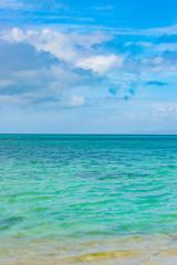 沖縄竹富島 西桟橋の海