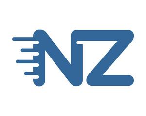 blue initial alphabet typography typeface typeset logotype alphabet image vector icon