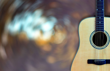 Guitar Extra wood multiple On background