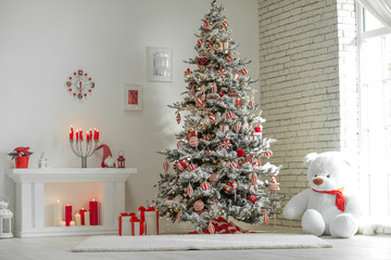 Christmas decor house