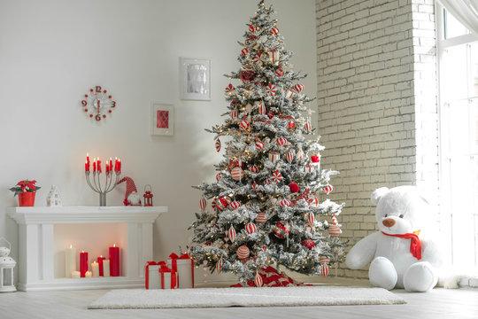 Christmas decor house