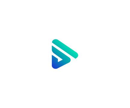 play letter S logo design element