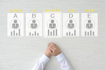ビジネスイメージ―人事と評価
