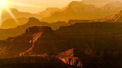 Sonnenuntergang Grand Canyon USA