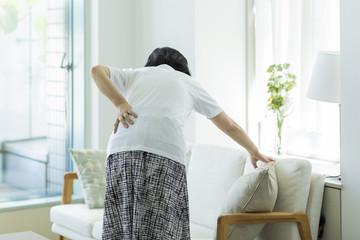 中年女性 腰痛