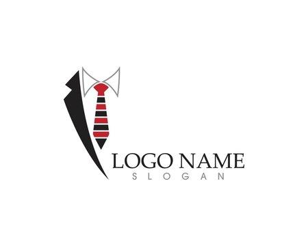 Tuxedo logo vector template