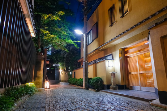神楽坂 夜景