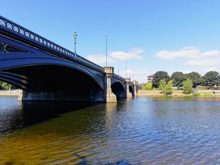Trent Bridge over the River Trent in Nottingham