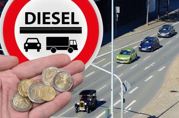 Fahrverbot - Diesel
