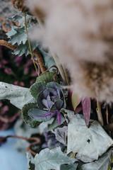 Stylish and elegant fall floral decor ideas. Wedding inspiration. Minimalism concept