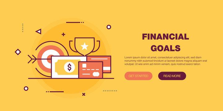 Financial Goals Banner