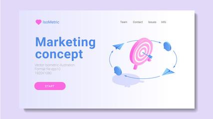 Design concept digital marketing advertising online platform analysis, Vector illustrations.