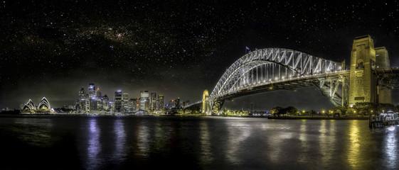 Printed roller blinds Sydney skyline sydney