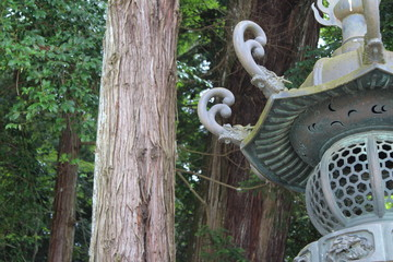 神宮の石灯篭