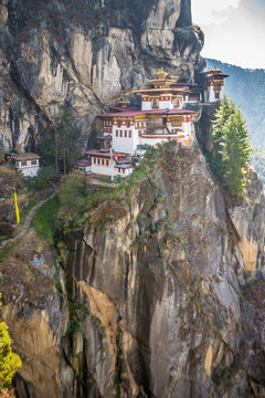 The tigers nest temple in Bhutan