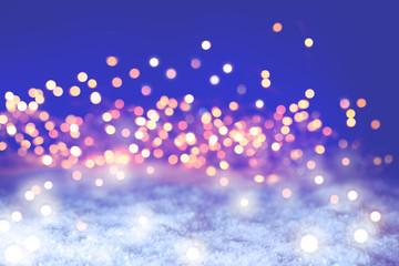 Sparkling Christmas Bokeh Background