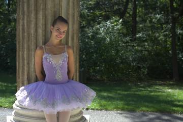 Ballett Tänzerin im Park