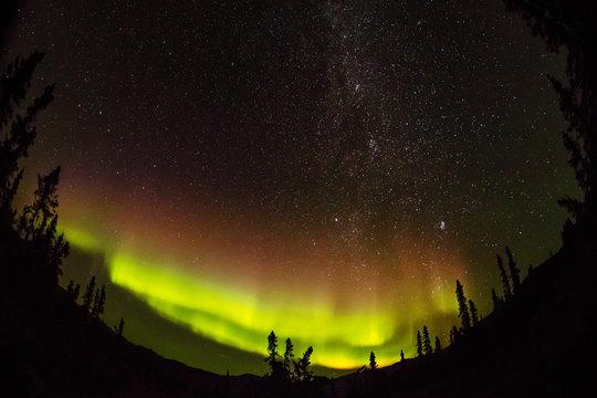 アラスカのオーロラ Aurora Alaska